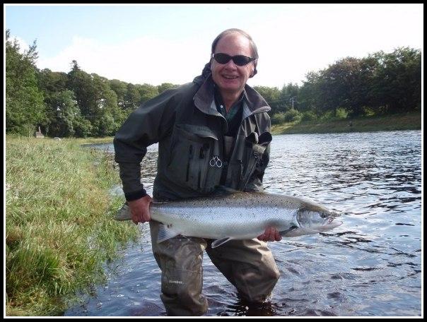 Ian Scott with his biggest fish of the season so far