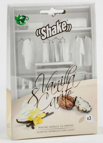 Mjuk doft av vanilj med en touch av sheasmör