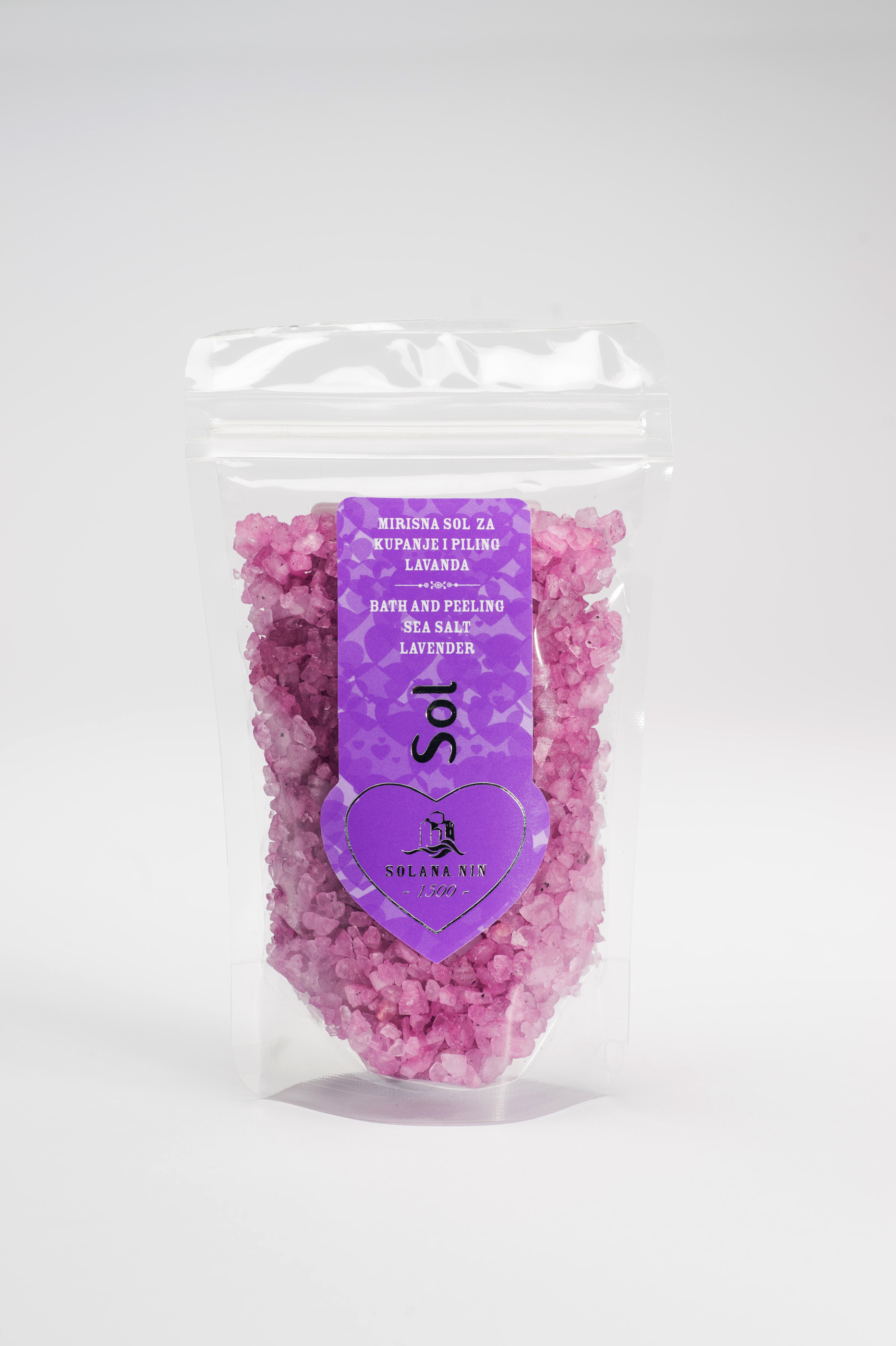 Badsalt Lavendel 130gr