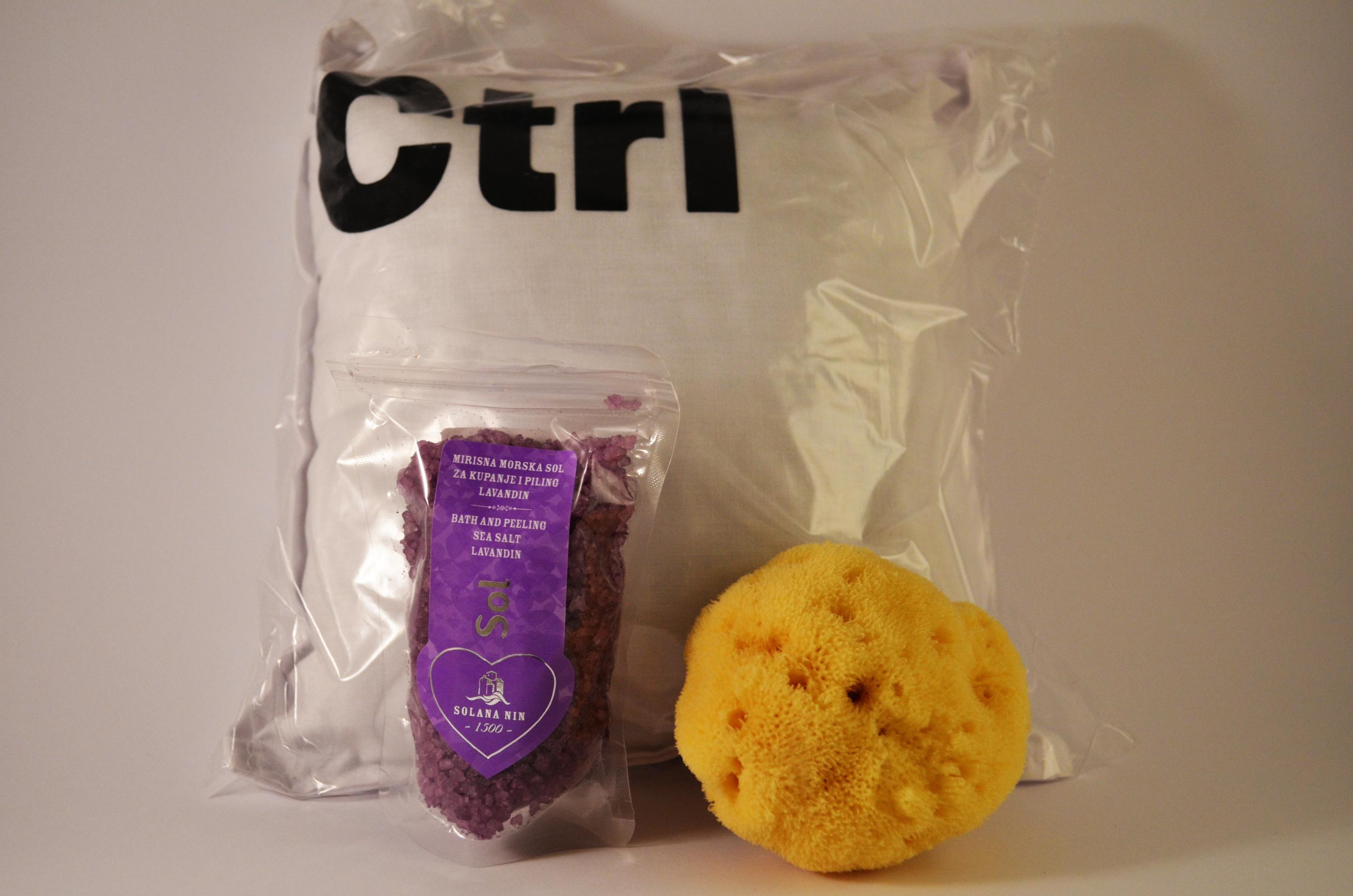 doftkudde lavendel CTRL - badsalt lavendel - duschsvamp