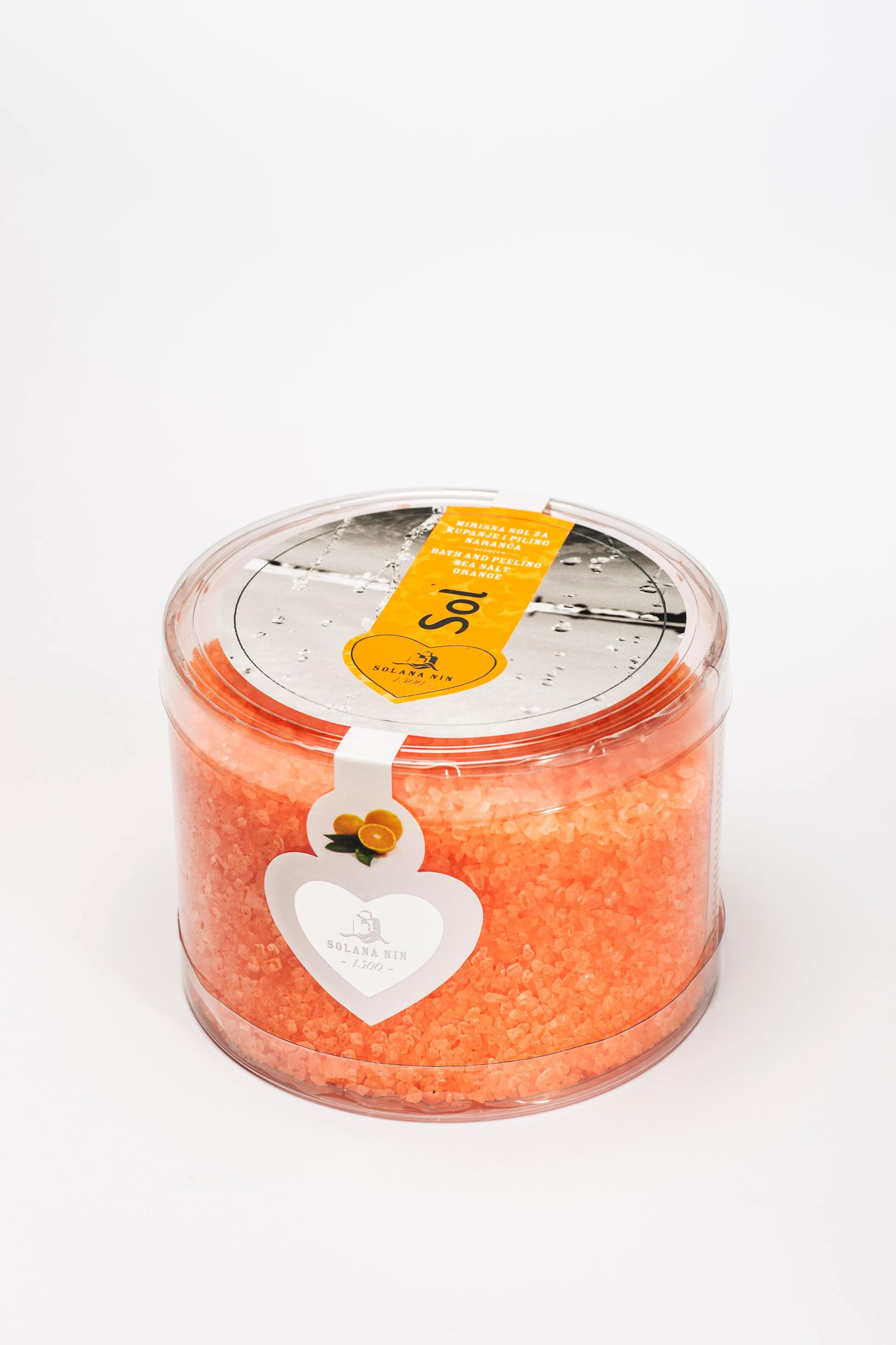 Badsalt Apelsin 1kg