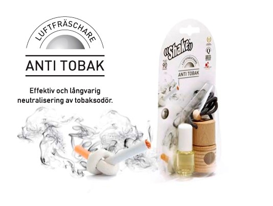 Doftolja Anti-Tobak hjälper dig att sluta röka