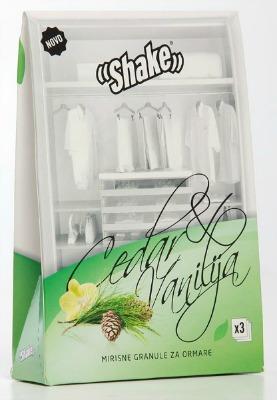 Vanilj & Cedar doftpåsar - väldoftande klädvård i garderoben