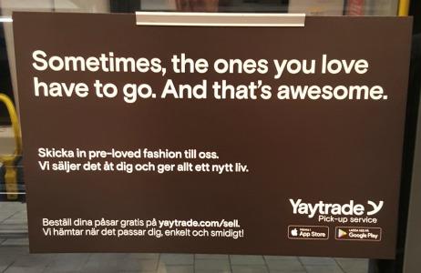 Yaytrade - ett ställe att sälja kläder