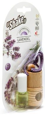 Lavendelolja att hänga i bilen, droppa på kudden, hälla i aromalampan...