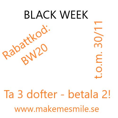 Vårt Black Week Erbjudande 2020