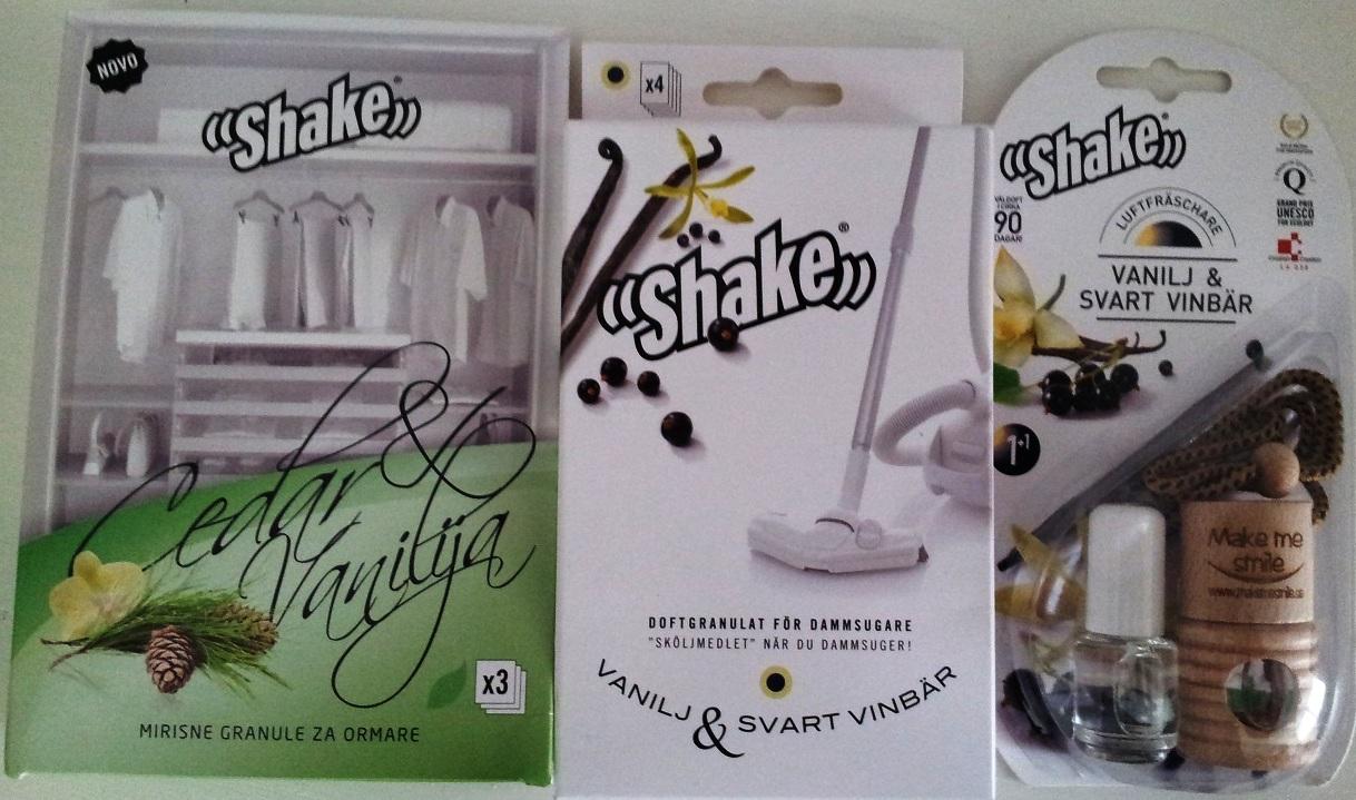 Paket med Vaniljdofter (Vanilj & Svart vinbär samt Vanilj & Cedar)