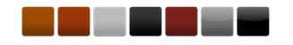 Obehandlad Naturröd, Engoberad Kopparröd, Engoberad Ljusgrå, Engoberad Antracit, Glaserad Kastanj, Glaserad Ceder, Glaserad Djupsvart