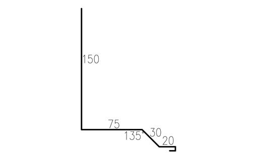 Profilgeometri väggbeslag trend/modern