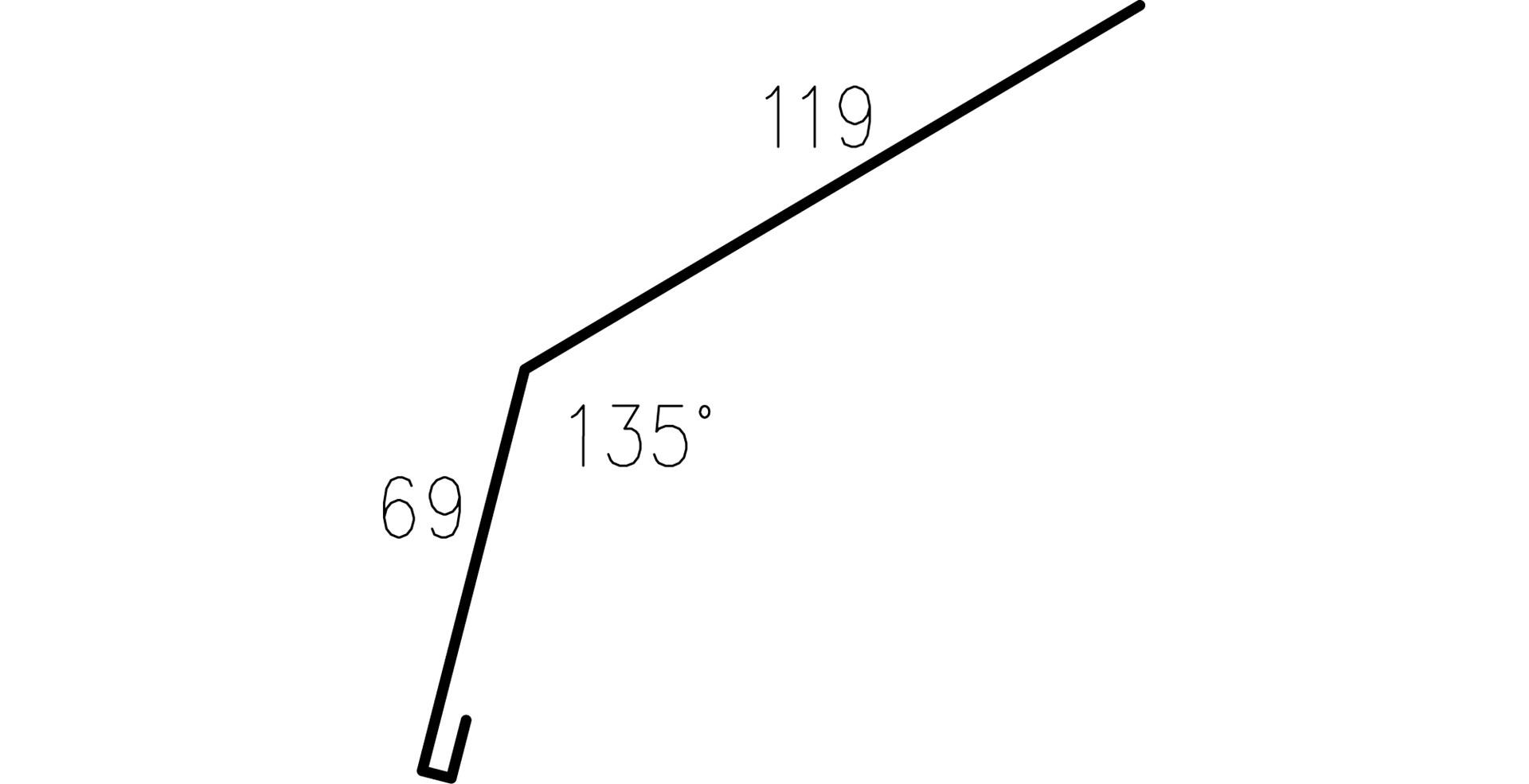 Profilgeometri Takfotsbeslag 326609