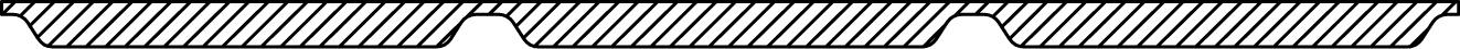 Profilgeometri tätband pannplåt