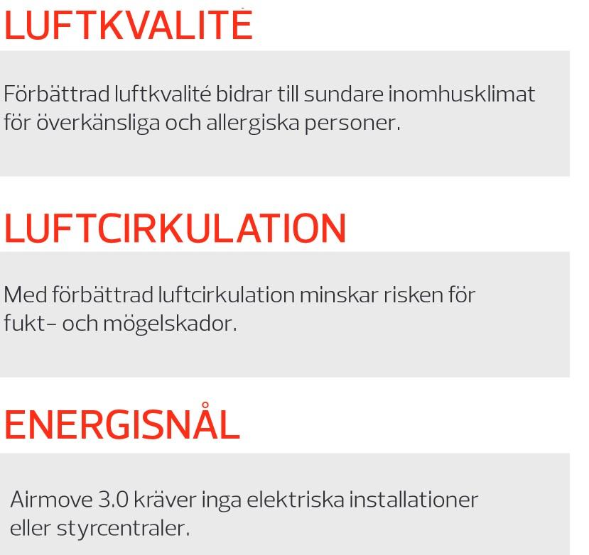 Airmove 3.0 energi