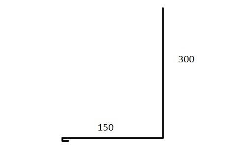 väggbeslag 300