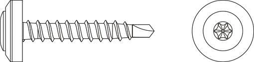 plannja-screw-4-8x35-312002-drawing