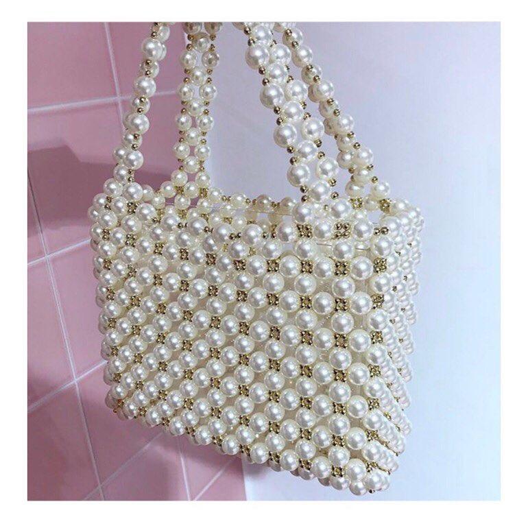 Sui Ava Magda Pearl Bag.