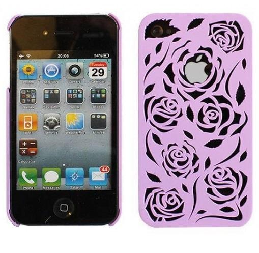 iphone-4-4s-plast-skal-ros-lila1