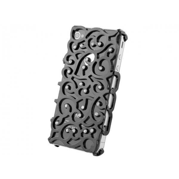 iphone-4-4s-allure-diamant-skal-svart