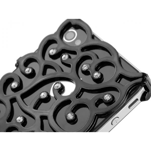 iphone-4-4s-allure-diamant-skal-svart1