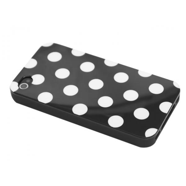 iphone-4-4s-polka-skal-svart-vita-prickar1