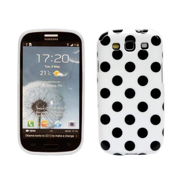 samsung-i9300-polka-skal-vit-svarta-prickar