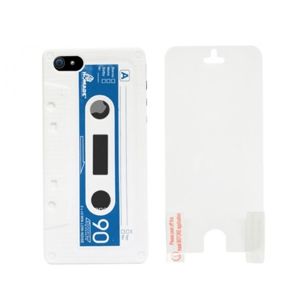 aa-iphone-5-kassettband-silikon-skal-vit