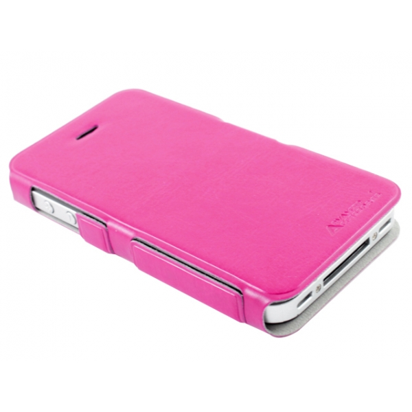 aa-iphone-44s-ultra-slim-folio-premium-booklet-flip-fodral-rosa2