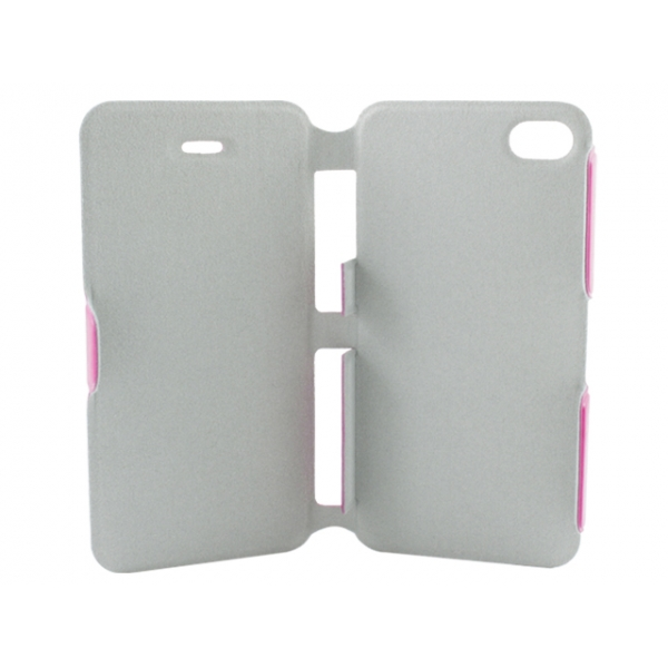 aa-iphone-44s-ultra-slim-folio-premium-booklet-flip-fodral-rosa3