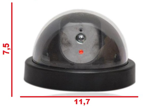 KAMERAATRAPP - KUPOL MED LED BELYSNING