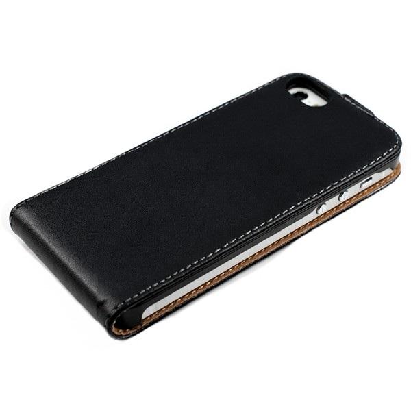 lyxigt-flip-fodral-lader-iphone-5-svart3