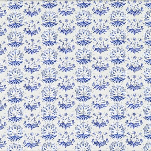 PRIMROSE & COLUMBINE Blå S