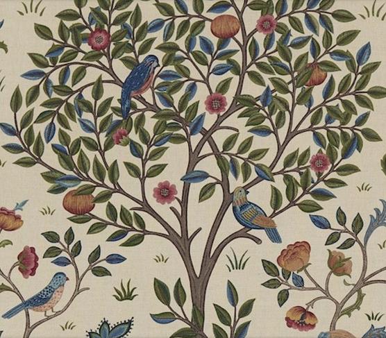 Kelmscott tree Blå L