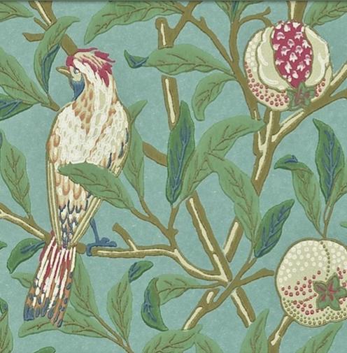 Bird & Pomegranate Turkos L