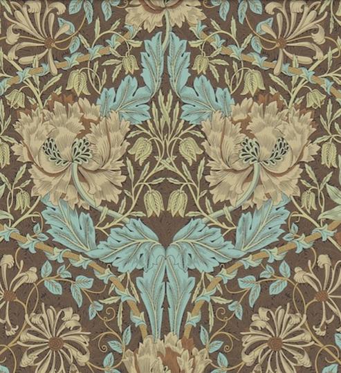 Honeysuckle & Tulip Brun L