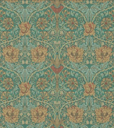 Honeysuckle & Tulip Grön S