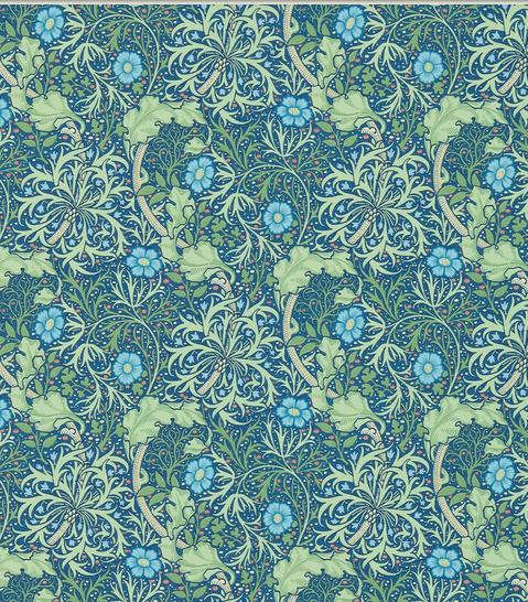 Seaweed Blåblå S