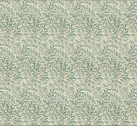 Willow Bough inor Bomull Grönbrun S