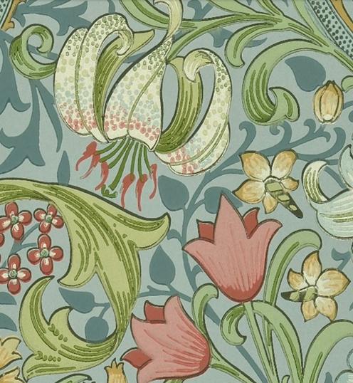 Golden Lily Vintage Ljusblå L