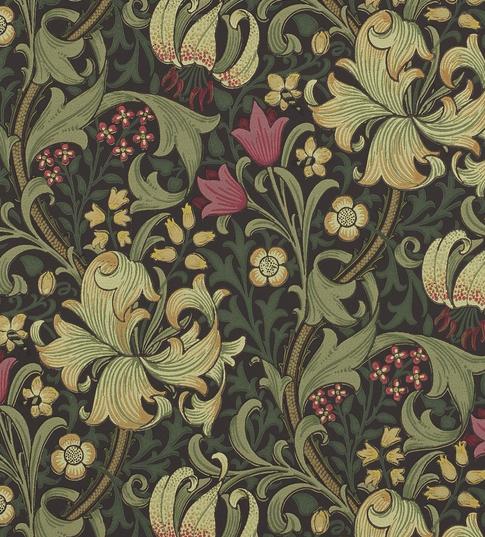 Golden Lily Mörkgrön S