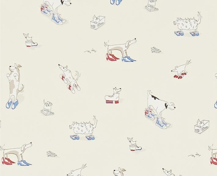 Dogs in Clogs RödBlå L