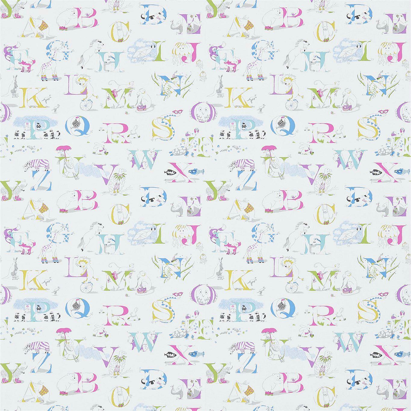 AlphabetZoo Pastell Multi