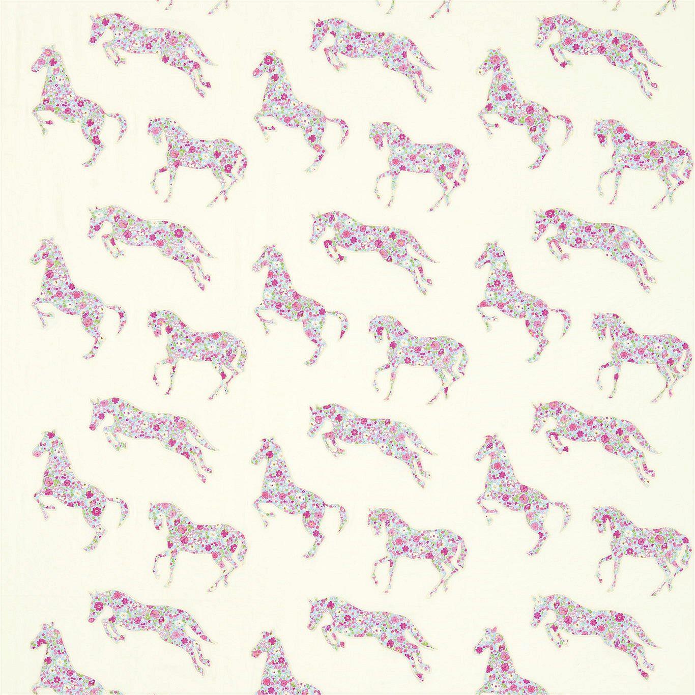 Pretty Ponies Broderad Vit