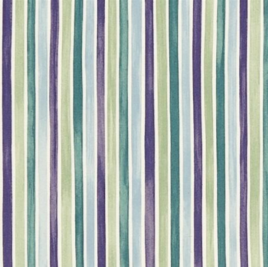 EB Tyg Polka Stripe Lilagrön L