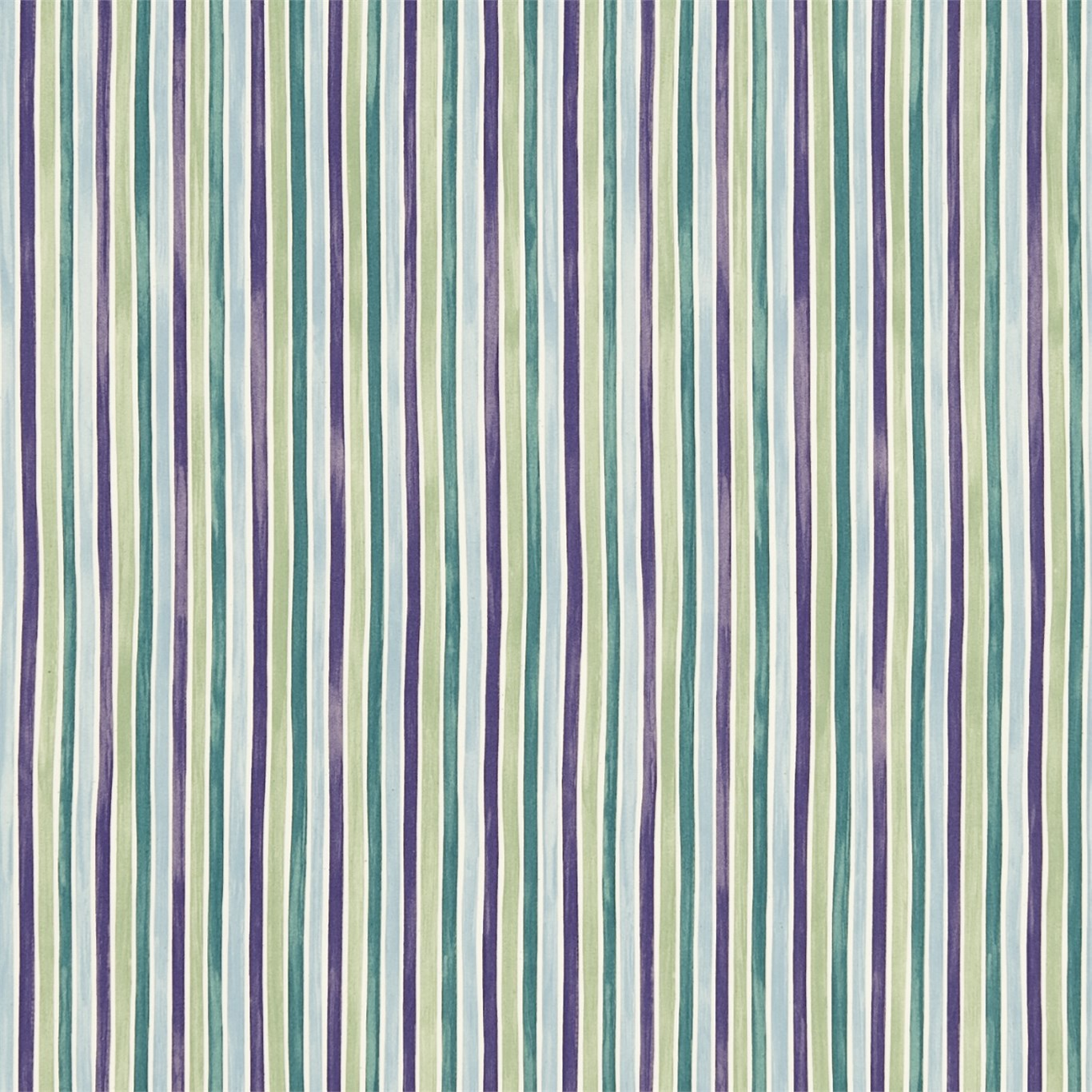 EB Tyg Polka Stripe Lilagrön