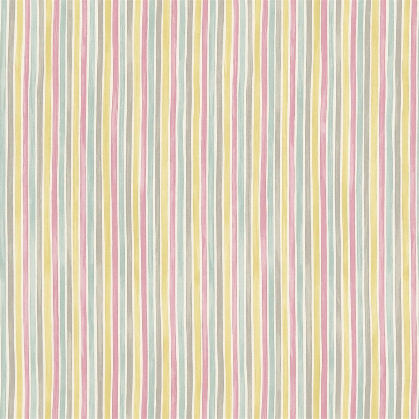 EB Tyg Polka Stripe Rosagulgrå