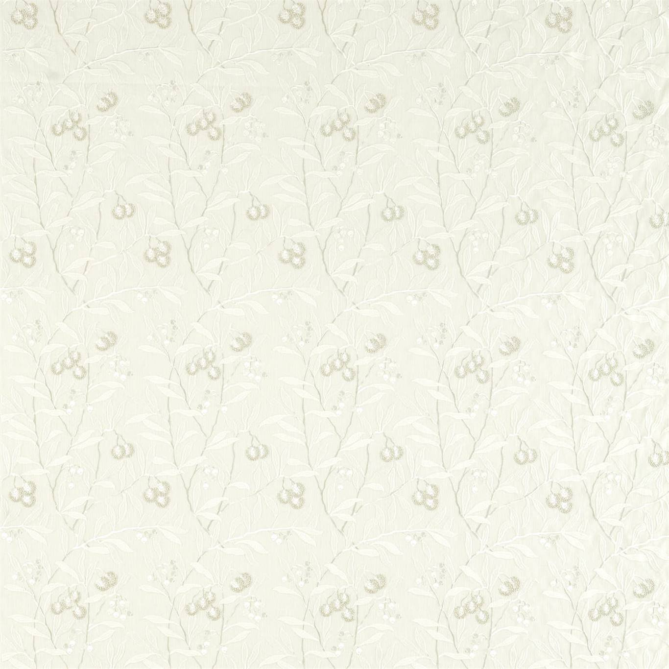 Pure Arbutus Embroidery White