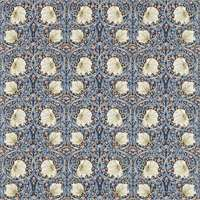 Gardinlängd William Morris - Pimpernel Blå - Gardinlängd <1.85 Pimpernel Blå