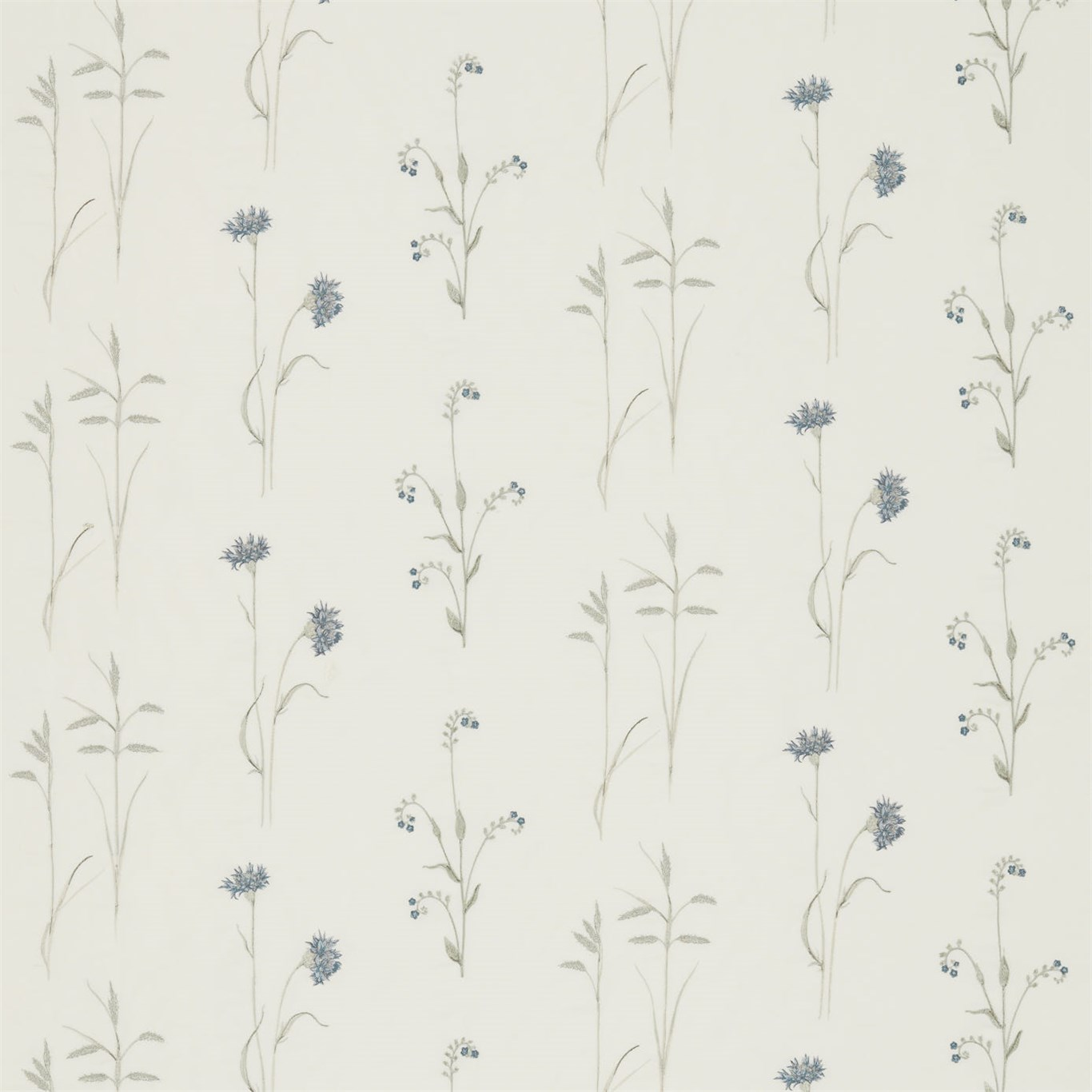 MEADOW GRASSES COBALT