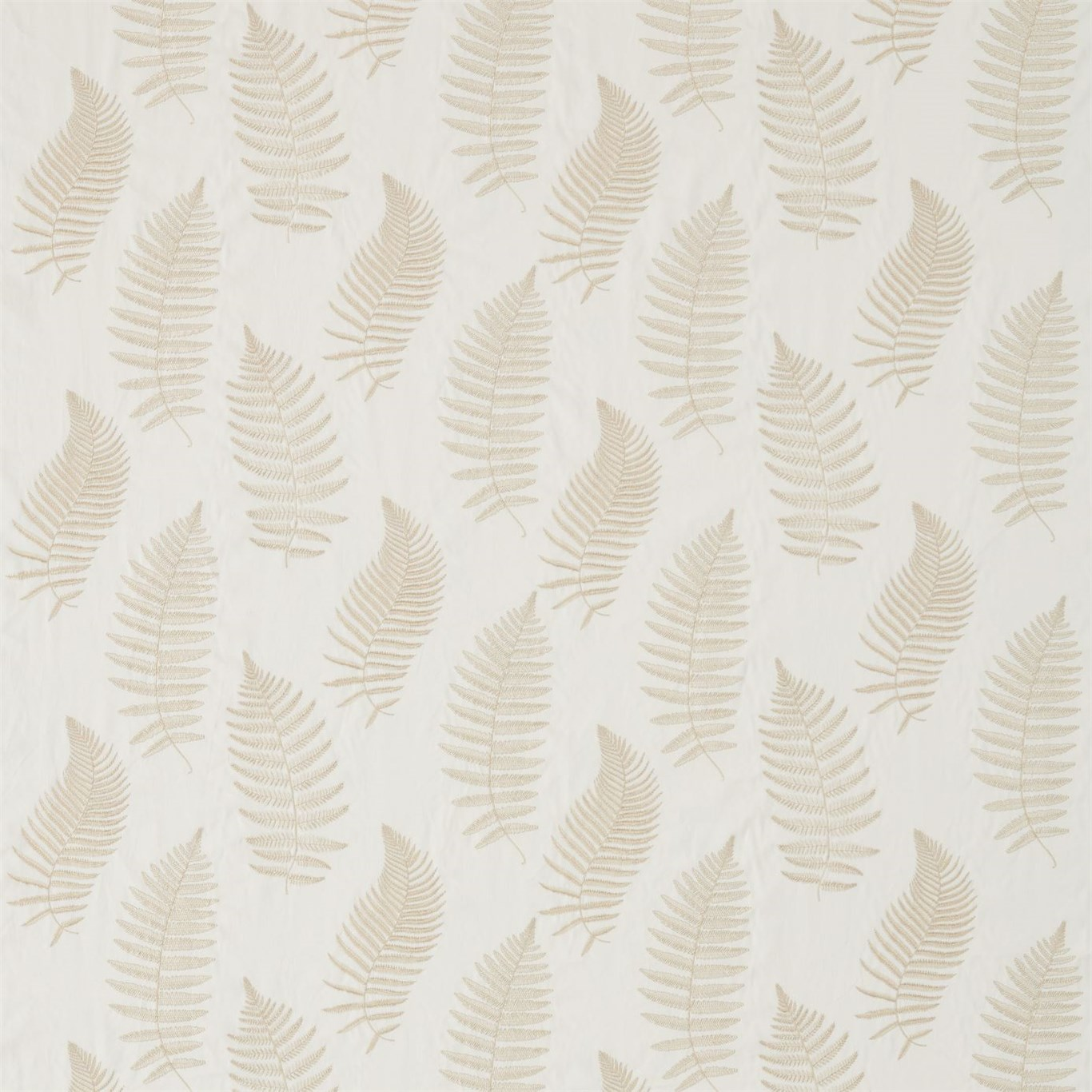 FERN EMBROIDERY IVORY