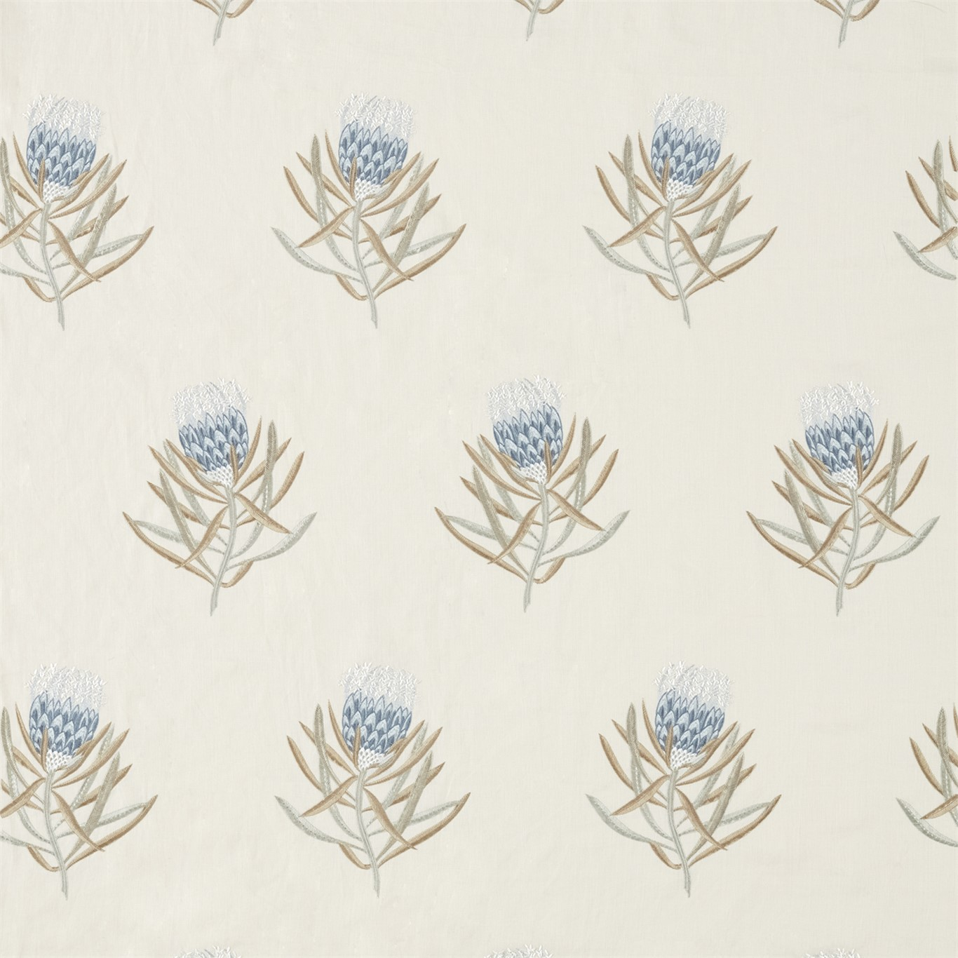 PROTEA FLOWER CHINA BLUE