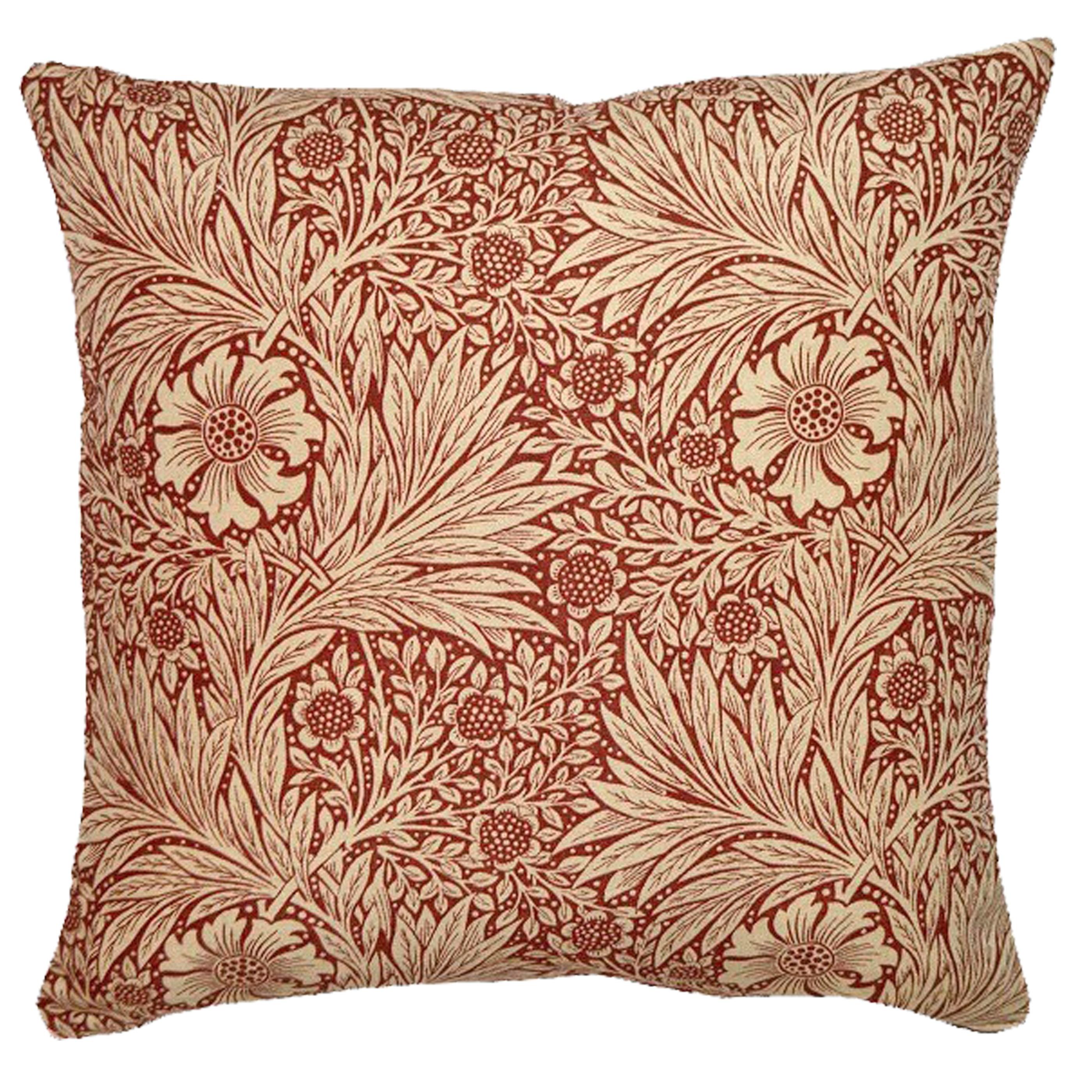 Kudde William Morris Marigold Röd